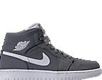 Cool Grey/White Nubuck
