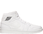 Men's Air Jordan Retro 1 Mid Basketball Shoes