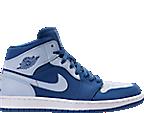 Men's Air Jordan Retro 1 Mid Retro Basketball Shoes