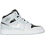 Boys' Grade School Air Jordan 1 Mid Basketball Shoes