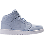 Kids' Grade School Air Jordan 1 Mid Basketball Shoes