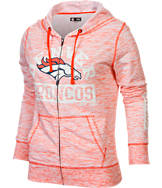 Women's New Era Denver Broncos NFL French Terry Hoodie