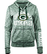 Women's New Era Green Bay Packers NFL French Terry Hoodie
