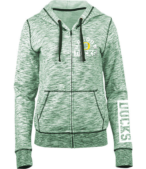 Women's New Era Oregon Ducks College French Terry Hoodie