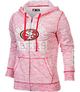 Women's New Era San Francisco 49ers NFL French Terry Hoodie