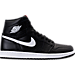 Right view of Men's Air Jordan Retro 1 High OG Basketball Shoes in Black/White/Black