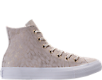 Women's Converse Chuck Taylor High Top Shimmer Casual Shoes