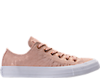 Women's Converse Chuck Taylor Ox Shimmer Casual Shoes