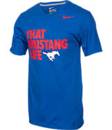 Men's Nike SMU Mustangs College Mascot T-Shirt