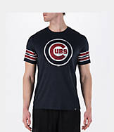 Men's '47 Brand Chicago Cubs MLB Knock Club Stripe T-Shirt