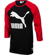 Men's Puma Logo Raglan Shirt