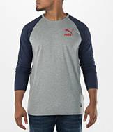 Men's Puma Archive Long-Sleeve Raglan Shirt