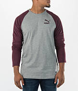 Men's Puma Archive Long-Sleeve Raglan Shirt