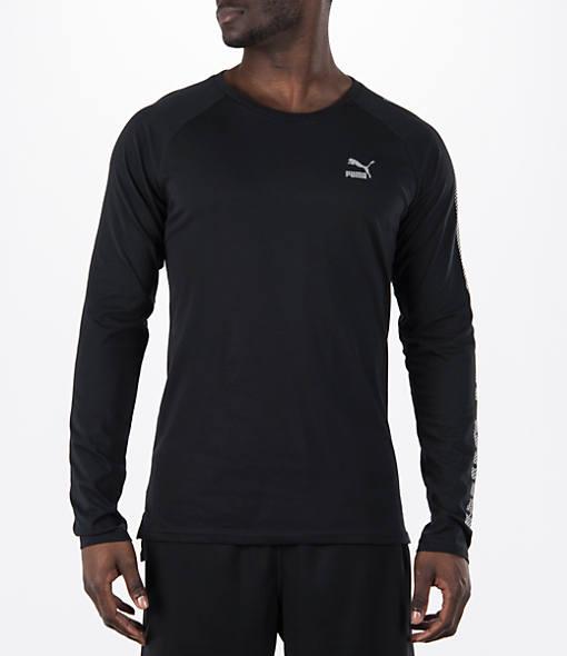 Men's Puma EVO Core Long-Sleeve T-Shirt