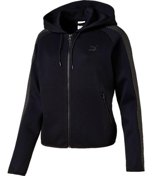 Women's Puma Full-Zip Metallic Hoodie
