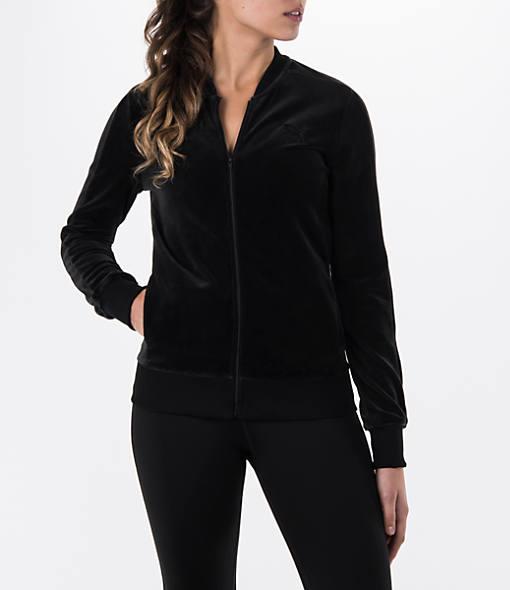 Women's Puma Velour Jacket
