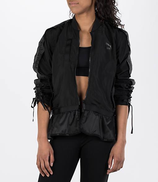 Women's Puma XTreme Frill Bomber Jacket