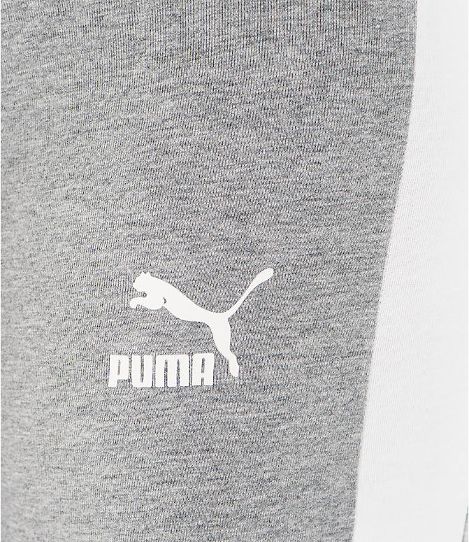 Detail 2 view of Women's Puma T7 Leggings in Grey