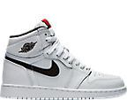 Boys' Grade School Air Jordan Retro 1 High OG Casual Shoes