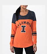 Women's Stadium Illinois Fighting Illini College Long-Sleeve Sporadic T-Shirt