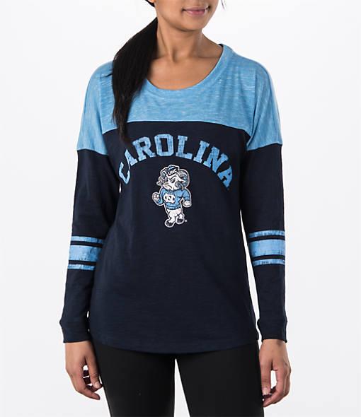 Women's Stadium North Carolina Tar Heels College Long-Sleeve Sporadic T-Shirt
