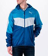 Men's Puma Colorblock Windbreaker Jacket