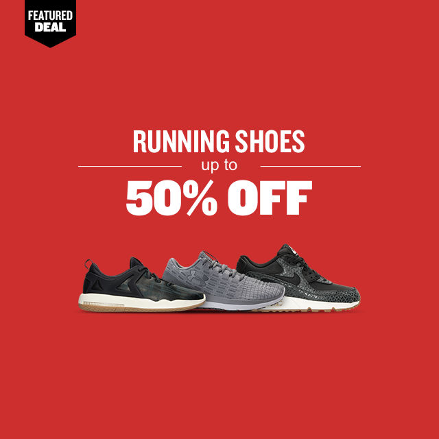 Running Shoes Up To 50% Off
