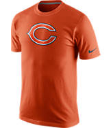 Men's Nike Chicago Bears NFL Fast Logo T-Shirt