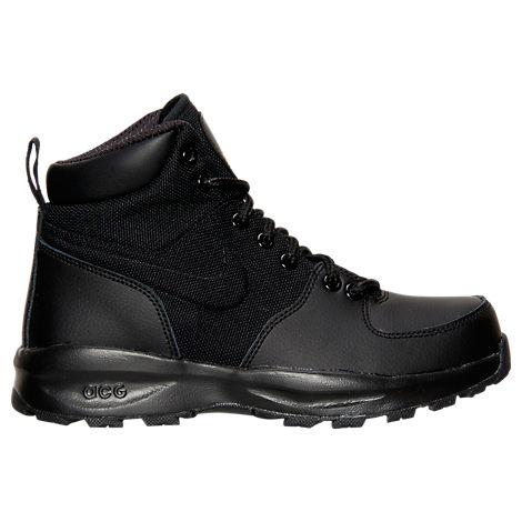 Boys' Grade School Nike Manoa Leather Textile Boots