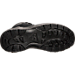 Bottom view of Boys' Preschool Nike Manoa Leather Textile Boots in Black/Black