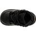 Top view of Boys' Toddler Nike Manoa Leather Textile Boots in Black/Black