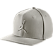 Front view of Jordan Jumpman Snapback Hat in Light Bone