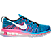 Right view of Women's Nike Flyknit Air Max Running Shoes in 014