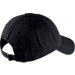 Back view of Nike Heritage 86 Futura Adjustable Hat in Black