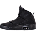 Left view of Men's Air Jordan SC-3 Off-Court Shoes in Black/Anthracite