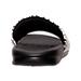 Back view of Men's Nike Benassi JDI Print Slide Sandals in White/Black