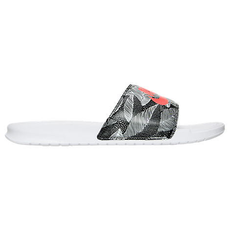 nike dunk contest 2012 - Men's Nike Benassi JDI Print Slide Sandals| Finish Line