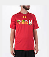 Men's Under Armour Maryland Terrapins College Onfield Football T-Shirt