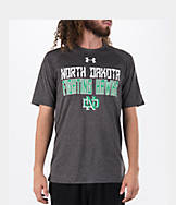 Men's Under Armour North Dakota Fighting Sioux College Wordmark T-Shirt