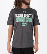 Men's Under Armour North Dakota Fighting Sioux College Wordmark T-Shirt
