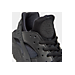 Front view of Women's Nike Air Huarache Running Shoes in Black/Black