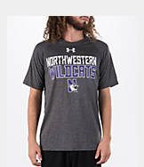 Men's Under Armour Northwestern Wildcats College Wordmark T-Shirt