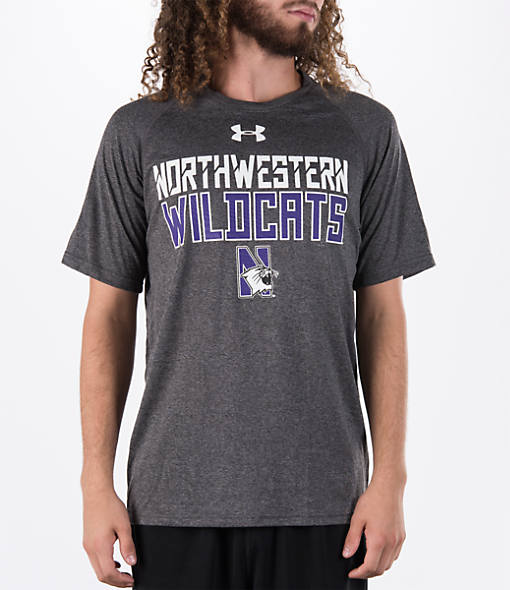 Men's Under Armour Northwestern Wildcats College Wordmark T-Shirt