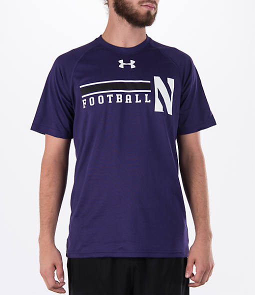 Men's Under Armour Northwestern Wildcats College Onfield Football T-Shirt