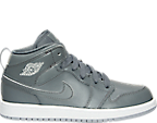 Boys' Preschool Air Jordan 1 Mid Basketball Shoes