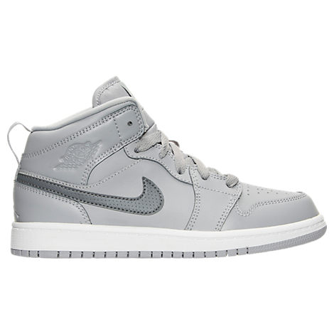 Boys' Preschool Jordan 1 Mid Basketball Shoes
