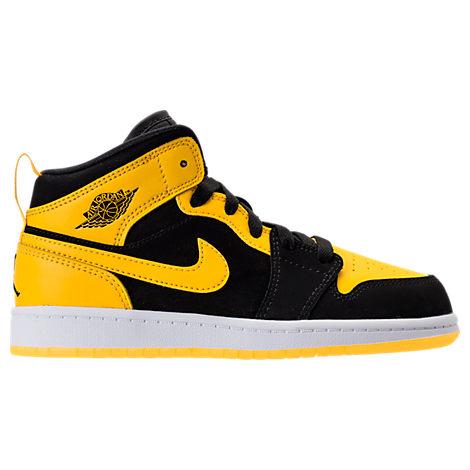 Boys' Preschool Jordan 1 Mid Basketball Shoes