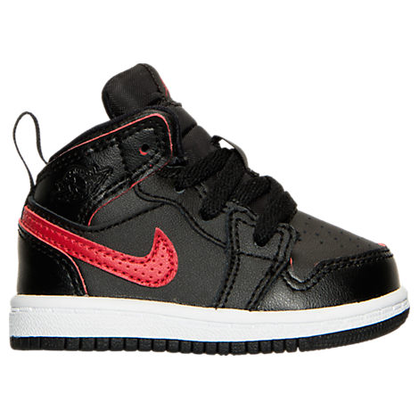 Boys' Toddler Jordan Retro 1 Mid Basketball Shoes
