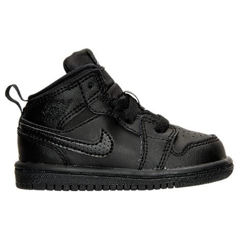 Boys' Toddler Jordan Retro 1 Mid Basketball Shoes
