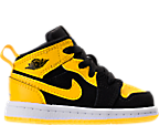 Boys' Toddler Air Jordan 1 Mid Casual Shoes